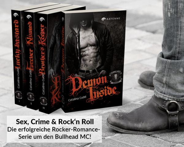 Kayenne Verlag Bullhead Series Bücher Set Teaser