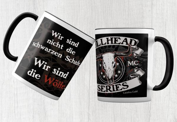 Kayenne Verlag Tasse Bullhead Series Wölfe
