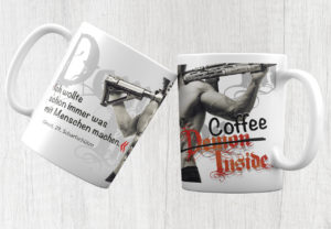 Kayenne Verlag Tasse Demon Inside Coffee