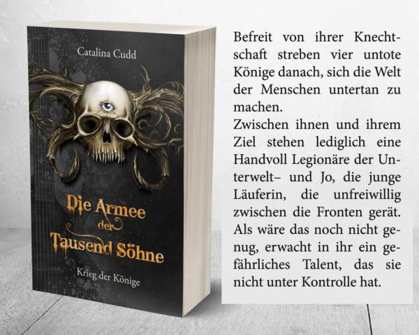 Kayenne Verlag Die Armee der Tausend Söhne Teaser Inhalt