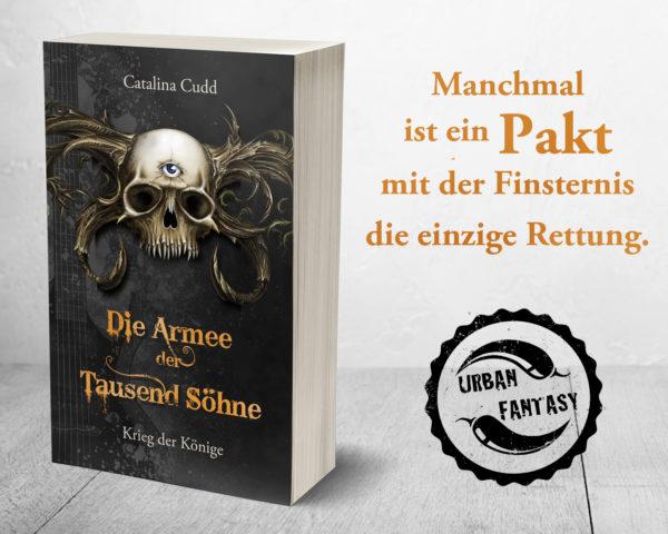 Kayenne Verlag Die Armee der Tausend Söhne Teaser Slogan