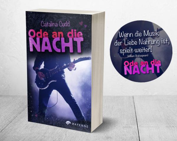 Kayenne Verlag Ode an die Nacht - alte Ausgabe Teaser Slogan